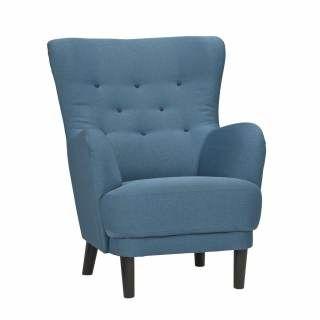 Woonexpress | trendkleur blauw | Fauteuil NETERSEL | Fauteuil NETERSEL is een van oorsprong klassiek model in een nieuw jasje dat helemaal past bij de trends van nu.