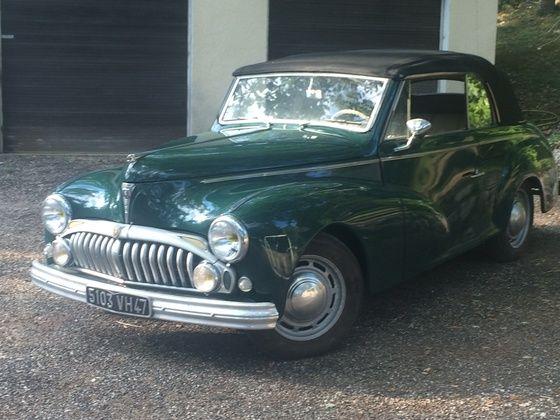 PEUGEOT - 203 Worblaufen cabriolet - 1950