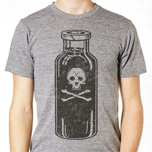 Bottle of poison tee