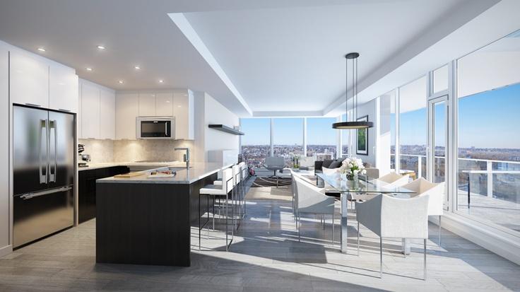 Gorgeous contemporary apartments