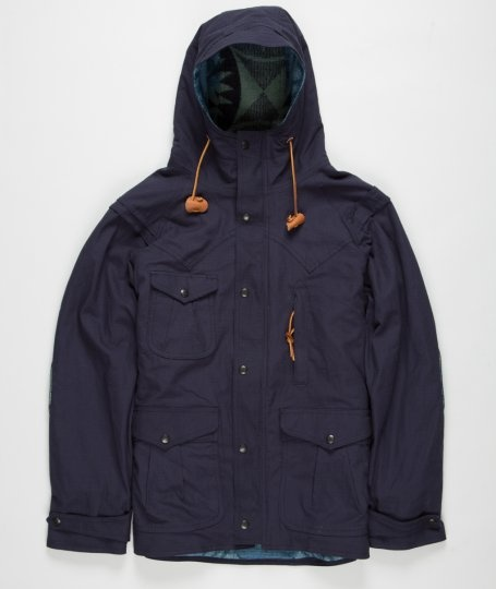 Monitaly - Mountain Parka w/ Rib