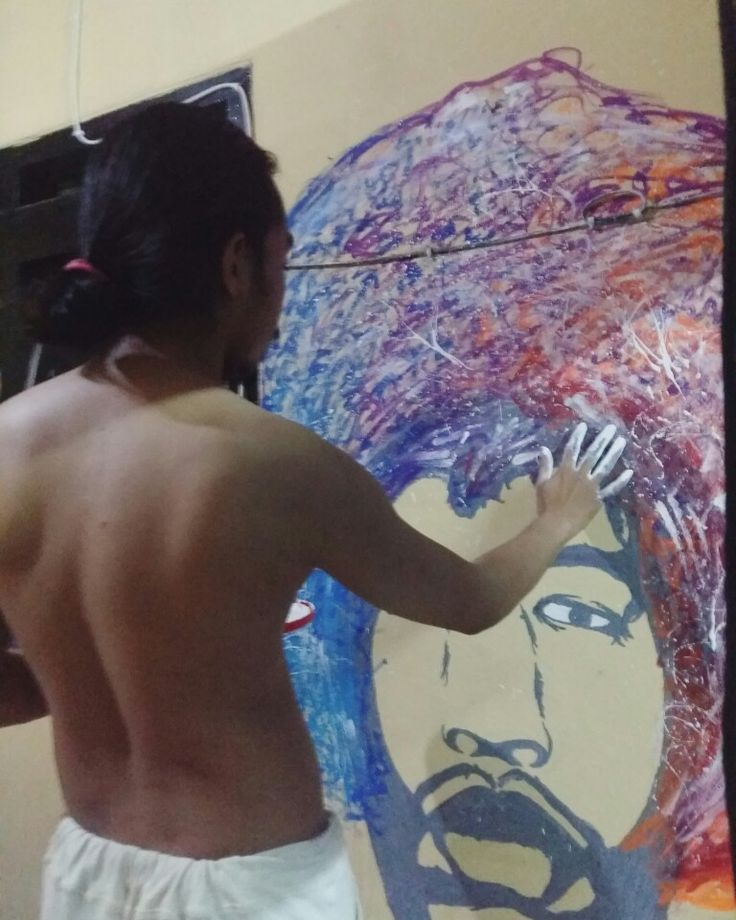 Jimi hendrix mural