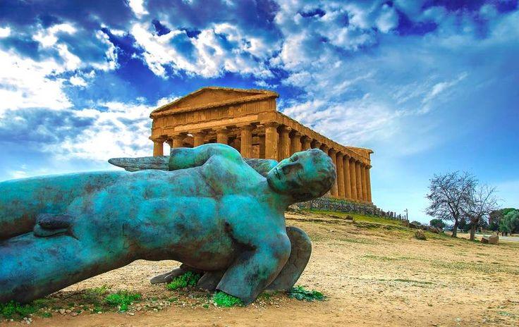 Agrigente et son Vallée des Temples grecs.