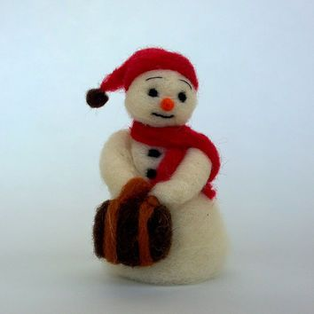 felted christmas ornaments - Google Search