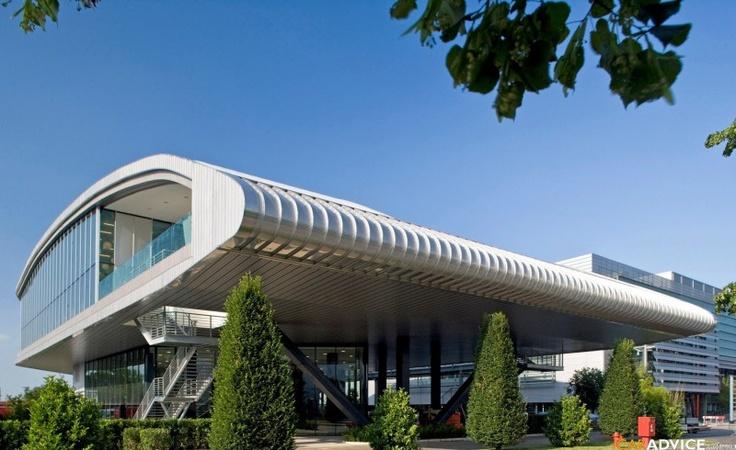 Ferrari Headquarters in Maranello, Italy