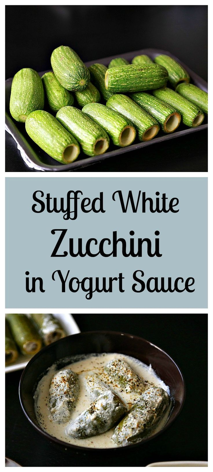 Stuffed White Zucchini in Yogurt Sauce (Kousa bel laban) These stuffed white zucchini with yogurt are the definition of a comfort meal! Eat it as it, or mix it with white rice. It's healthy, and gluten free!