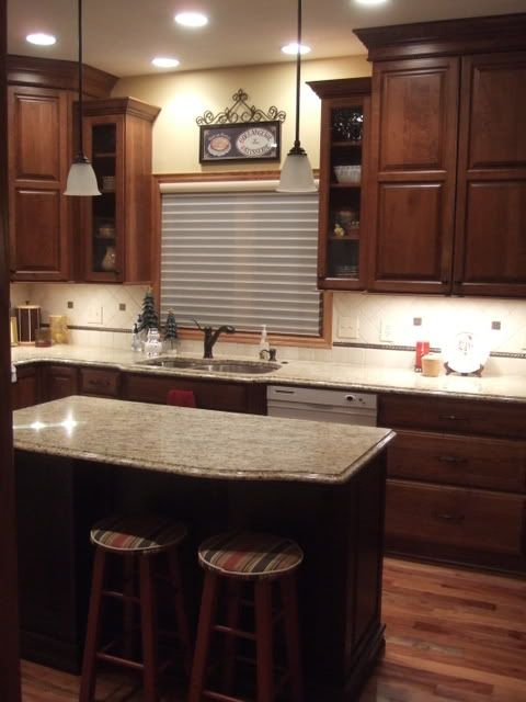countertop sinks kitchen best 25 cherry cabinets ideas on cherry 2683