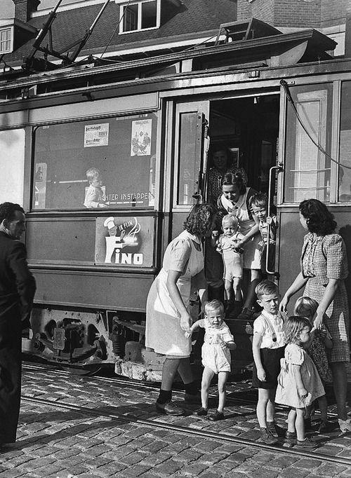 Amsterdam Netherlands 1947 Photo: Ben van Meerendonk