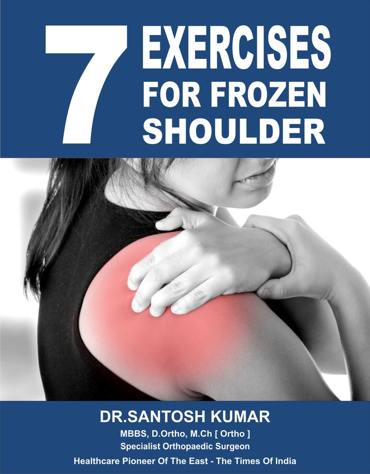 Do these simple Exercises for Frozen Shoulder.  Click here : bit.ly/1MXeGVb