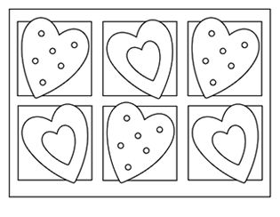 Squishies coloring pages coloring pages for Free valentine coloring pages for kids