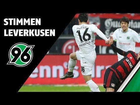 Stimmen zum Spiel | Bayer 04 Leverkusen - Hannover 96 - YouTube