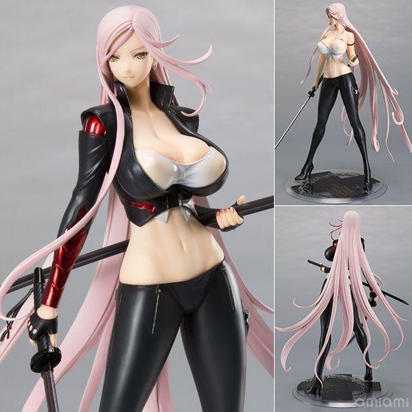 41.83$  Buy here - http://ali8zu.shopchina.info/go.php?t=32767327788 - Anime Triage X Yuko Sagiri Darkness Ver. 1/7 Scale Painted Figure Collectible Model Toy black/white 26cm  #magazineonline