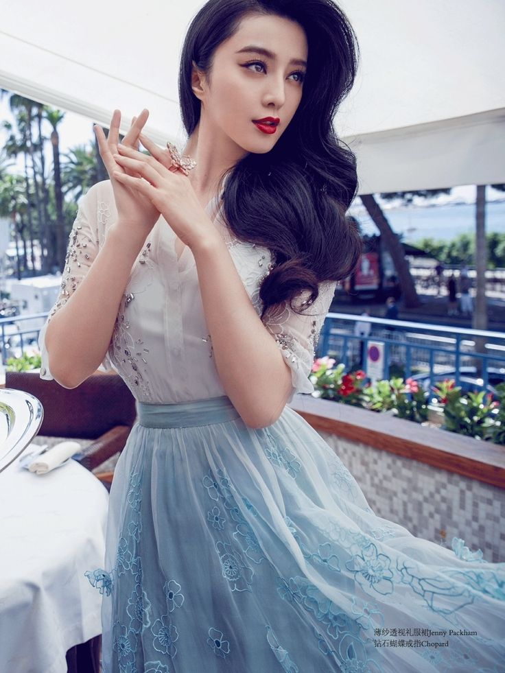 Fan Bingbing by Chen Man for Cosmopolitan China August 2015 22ed Anniversary Issue #Chopard