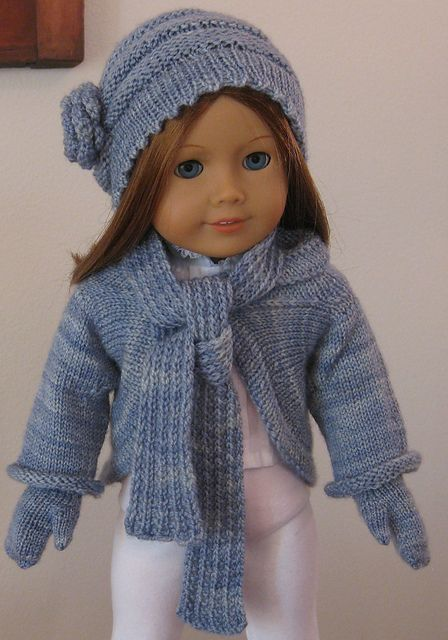 Top 25 ideas about american girl doll knitting shrug on ...