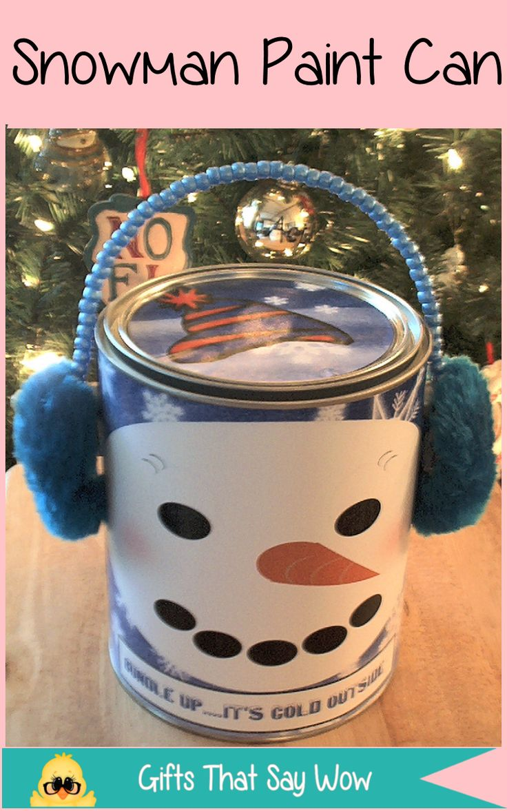 Hf ideas parrillas y asados - Gifts That Say Wow Fun Crafts And Gift Ideas Paint Cans