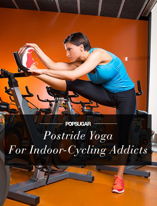 A postride yoga sequence for indoor-cycling addicts!