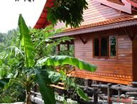 Traditional style villa located in a mass tropical garden in Koh Phangan