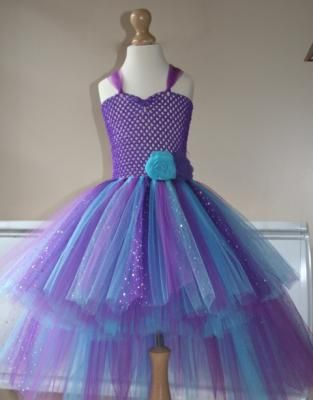 """Robe tulle """"Star of the night"""" http://www.anniversaire-en-or.com/boutique/robes-de-princesse/4-6-ans/ #robe #tutu #tulle #princesse #création #madeinfrance #faitmain"""
