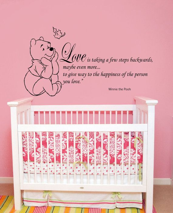 Wall Decals Quotes Winnie the Pooh Wall Decal Quote by BestDecals