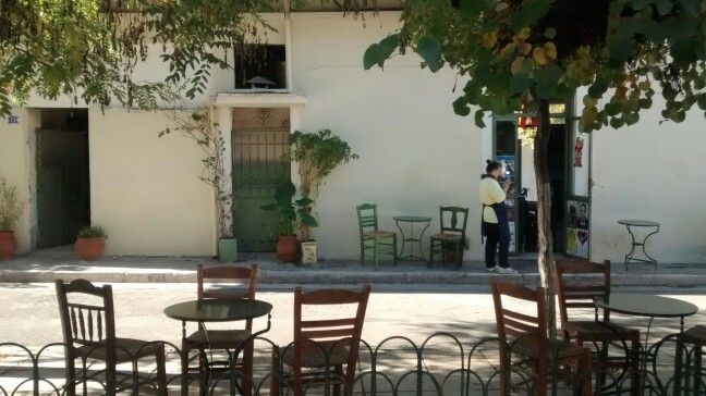 What about a #morning #coffee  to a #traditional #greek #coffeehouse ? #Athens #Greece #Sunday