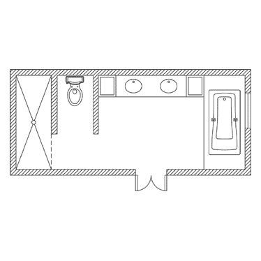 find this pin and more on master bath floor plan
