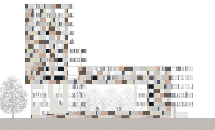 zucchi & partners: ravenna harbour apartment building