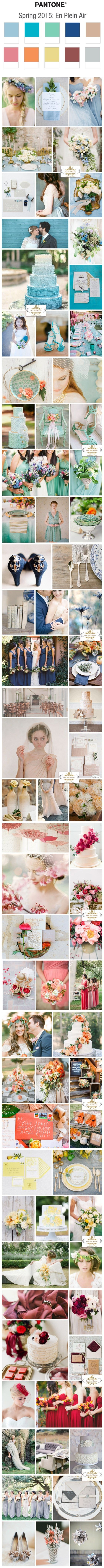 Top 10 Wedding Color Ideas for Spring 2015