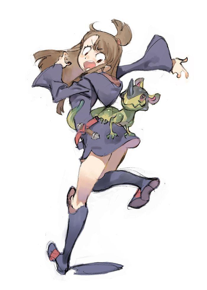 Little Witch Academia, Akko, by yoshinari you