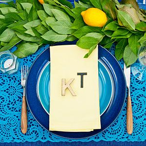 28 Ways to Decorate with Blue  sc 1 st  Pinterest : greek table setting decorations - Pezcame.Com