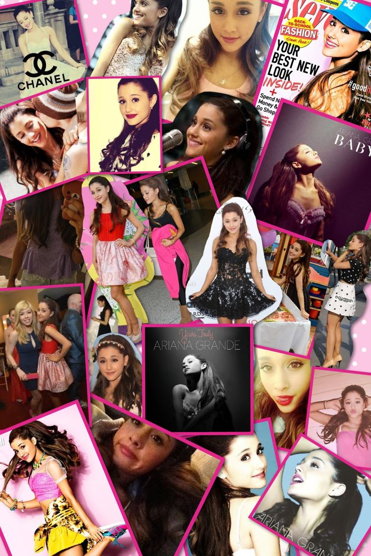 Ariana Grande 2013!!;) much Love Pic collage