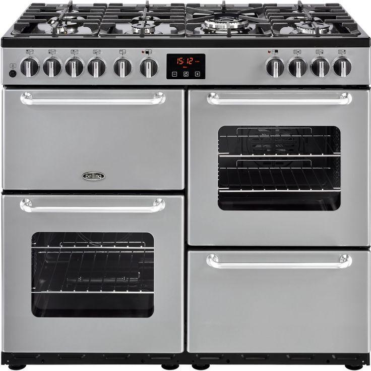 SANDRINGHAM100DFT_SI | Belling range cooker | ao.com