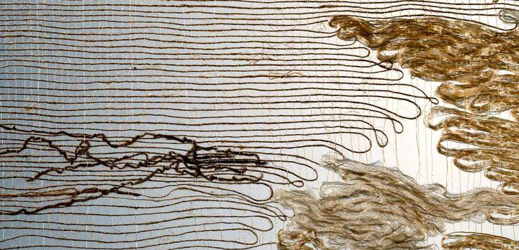 Seaweed, 1961Linen, silk; 120 x 32