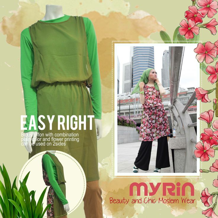 Easy Right two face blouse to be mixin your style! order to 085888934888 #MyRinBoutique #HijabStyle #Clothing #Blouse #Muslimah #ForSALE #Fashion #MixNmatch #Scarf #Women #flowers