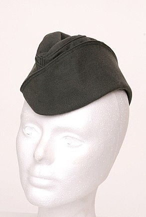 Women's Garrison Cap for my 1940s Pin Up Military costume