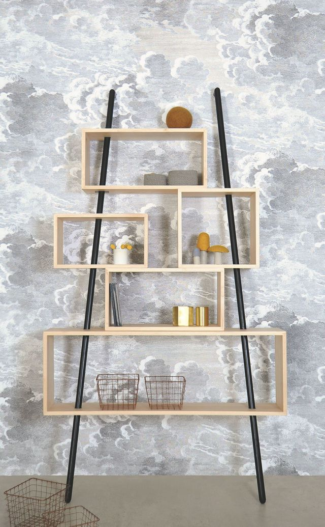 17 best ideas about etagere design on pinterest tag re design niches mura - Etagere bibliotheque blanche ...