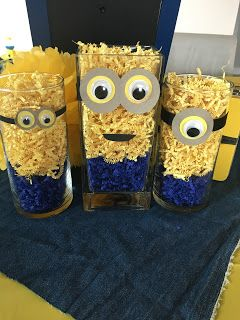 My littlest girl wanted a Minion birthday party for her third birthday. I was very excited about this because it had a very specific color s...