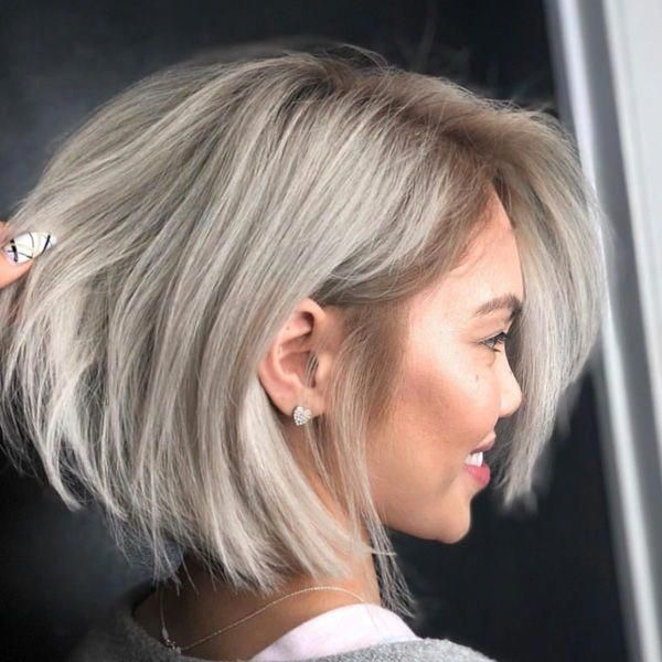 Spring Is Here And You Re Probably Looking To Change Your Hairstyle Or You Re Looking For Something New But Don T Wan Bob Frisuren Blond Blonder Bob Bob Frisur
