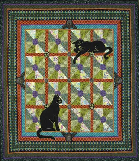 Free Cat Quilt Patterns