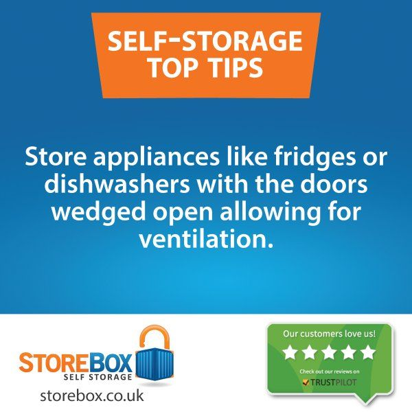 Another great self storage hack from the storage experts at storebox.co.uk