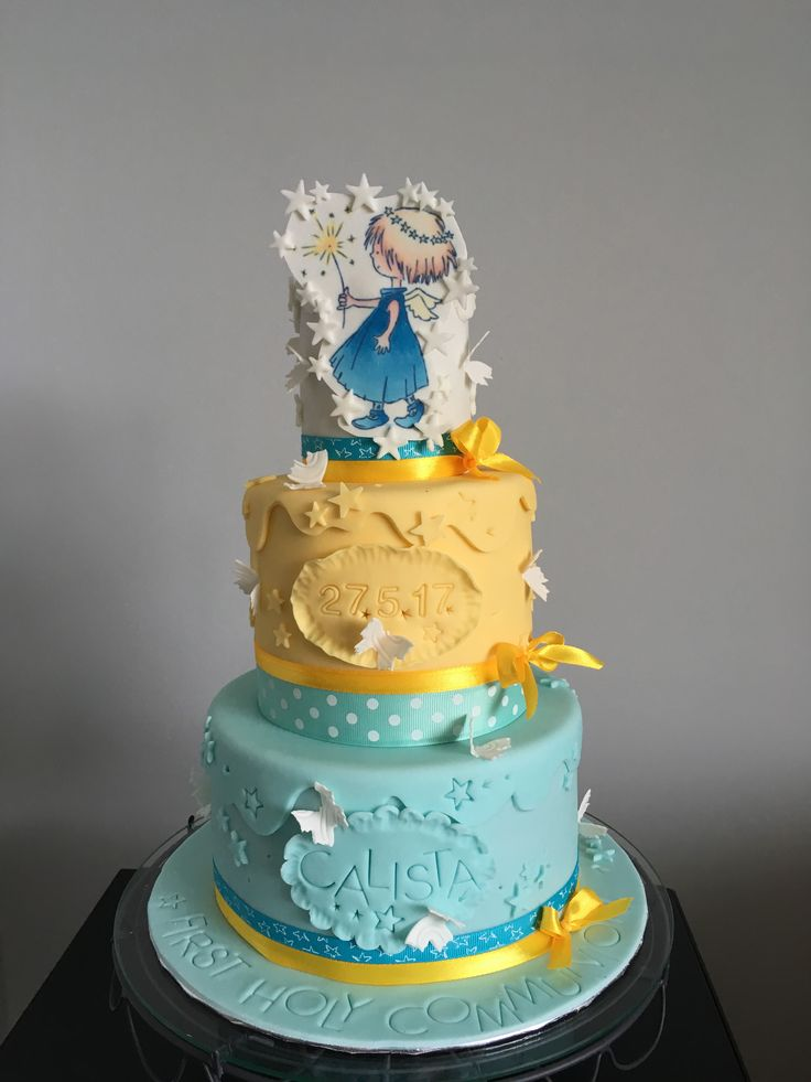 Fairy, First Communion Cake
