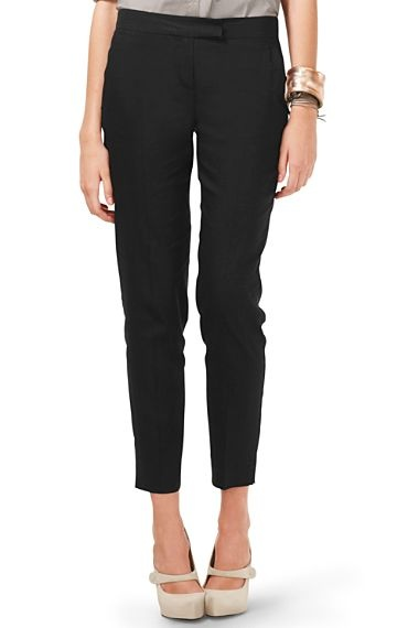 Cropped Suit Pants - Ibbey Tailor - Theory Pants