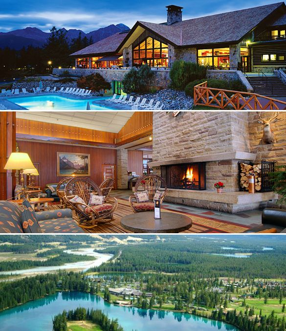 The Fairmont Jasper Park Lodge in Jasper, Alberta.  Been there 8/2015