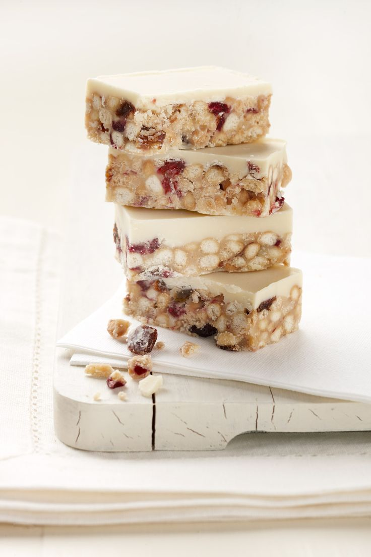 yoghurt and cranberry tiffin part of the tea for two gift box by crumb http://enjoycrumb.com/product/tea-for-two-gift-box-with-rocky-road-and-tiffin/#