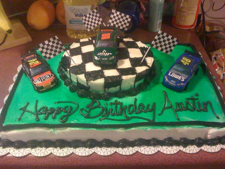 Cake Decorating Checkered Flag : 25+ Best Ideas about Nascar Cake on Pinterest Car ...