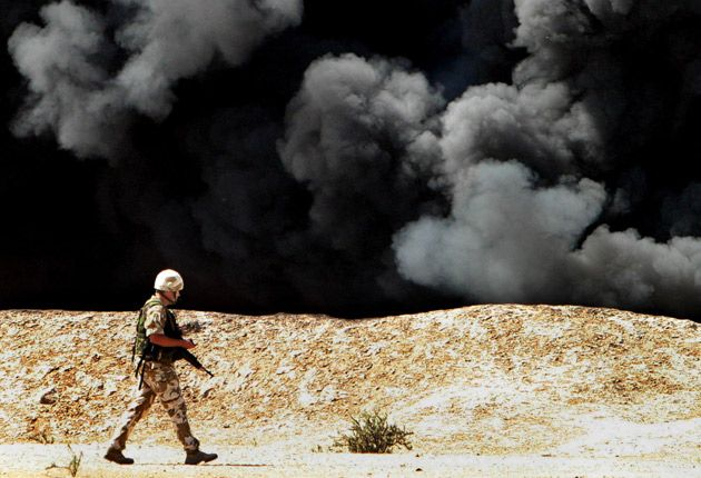 Plans to exploit Iraq's oil reserves were discussed by government ministers and the world's largest oil companies the year before Britain took a leading role in invading Iraq, government documents show.