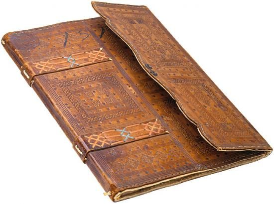 Florentine Portfolio Binding On: Lanfredino Lanfredini. Libro segreto biancho. Manuscript on paper. [Florence, 1516]. 230 x 305 m  Account Book - luxury version used by wealthiest merchants & bankers of Florence