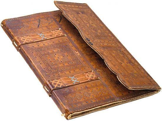 Florentine Portfolio Binding. On: Lanfredino Lanfredini. Libro segreto biancho. Manuscript on paper. [Florence, 1516].