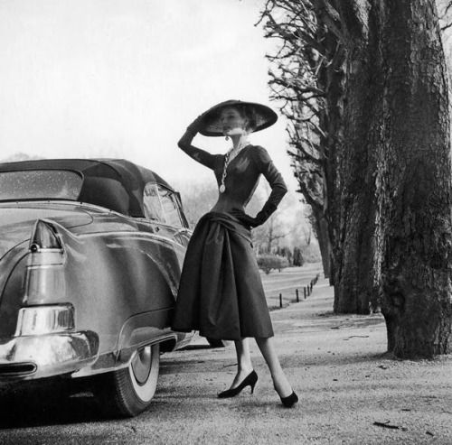 Stella Tenbrook, Jacques Fath, Willy Maywald, 1950s, fashion photography