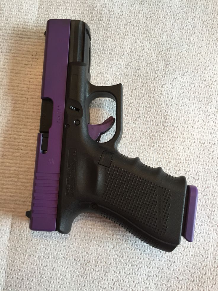 Glock 19, Gen 4. Just painted, love it.