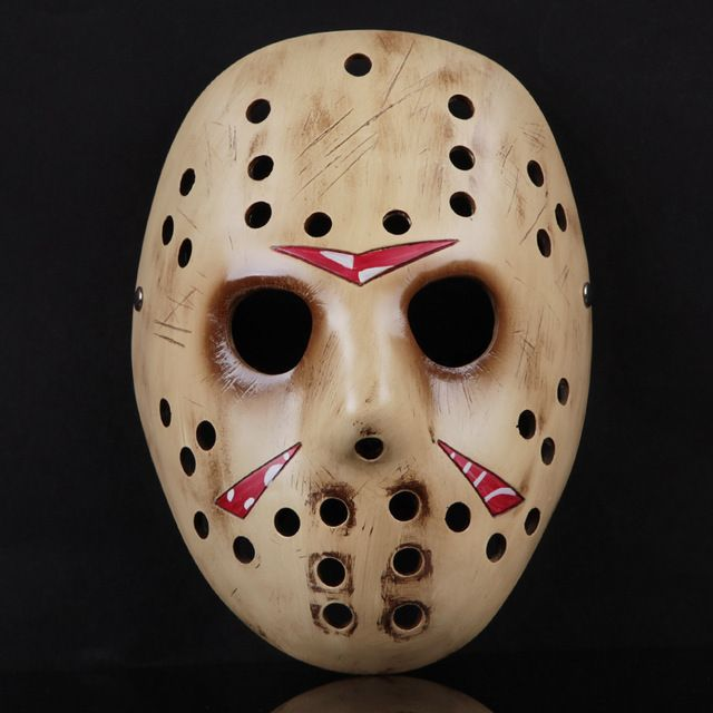 Brand Handmade Resin Scary Mask Props For Halloween Decoration Party Suppliers Horror Mask Fashion Jason Masks for Cosplay -- Visit the image link for more details. #HalloweenCrafts